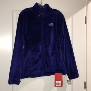 Women's north face osito jacket in marker blue L